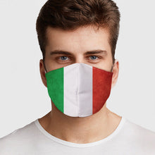 Load image into Gallery viewer, Italian Flag Face Cover