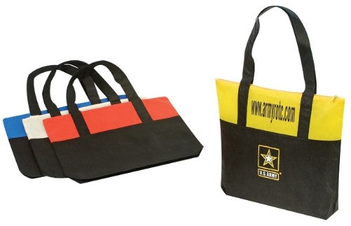 INBS102 Non-Woven Tote bag with Zipper -ITS Global Supply