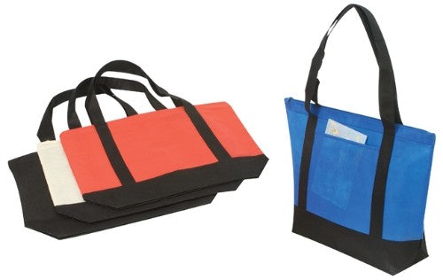 INBS104 Non-Woven Tote W/Zipper -ITS Global Supply
