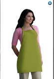 I210NP-No Pocket Bib Apron w/Non Adjustab 28 X 24 Made In The USA -ITS Global Supply