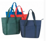 INBS163 Poly Tote Bag with Zipper -ITS Global Supply