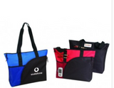 INBS204 Deluxe Zippered Tote Bag -ITS Global Supply