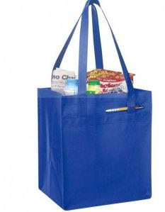 INBS228-Non Woven Tote with Fabric Covered Bottom bag -ITS Global Supply