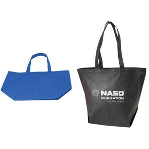 INBS107 Non-Woven 100 Grams Eco Friendly Large Tote Bag -ITS Global Supply