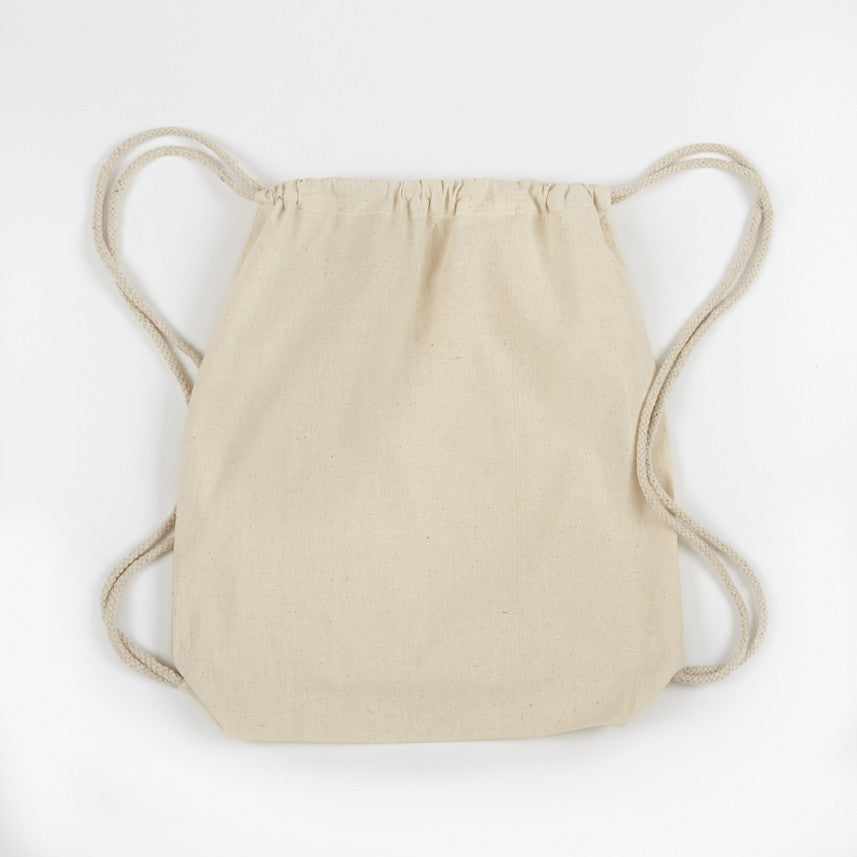 ITB600  NATURAL Cotton Drawstring Bag -ITS Global Supply