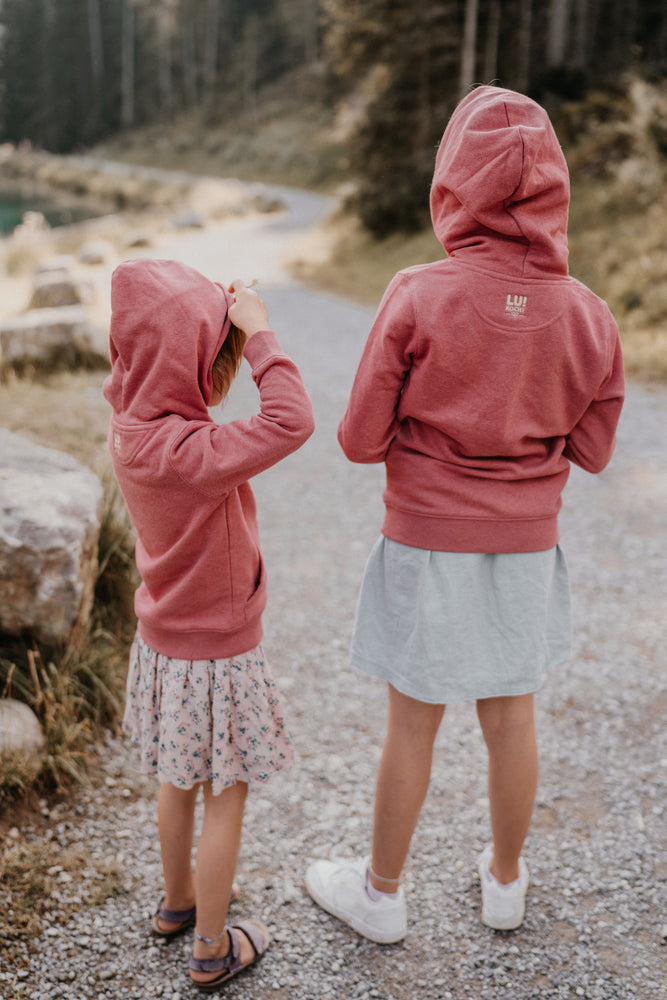 Hoodie für Kids - Heather-Berry