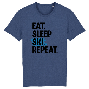 Eat- sleep -ski -repeat
