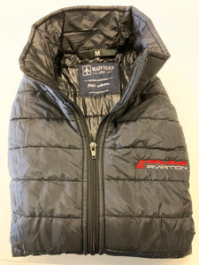 Black padded vest Airways Aviation by readytofly