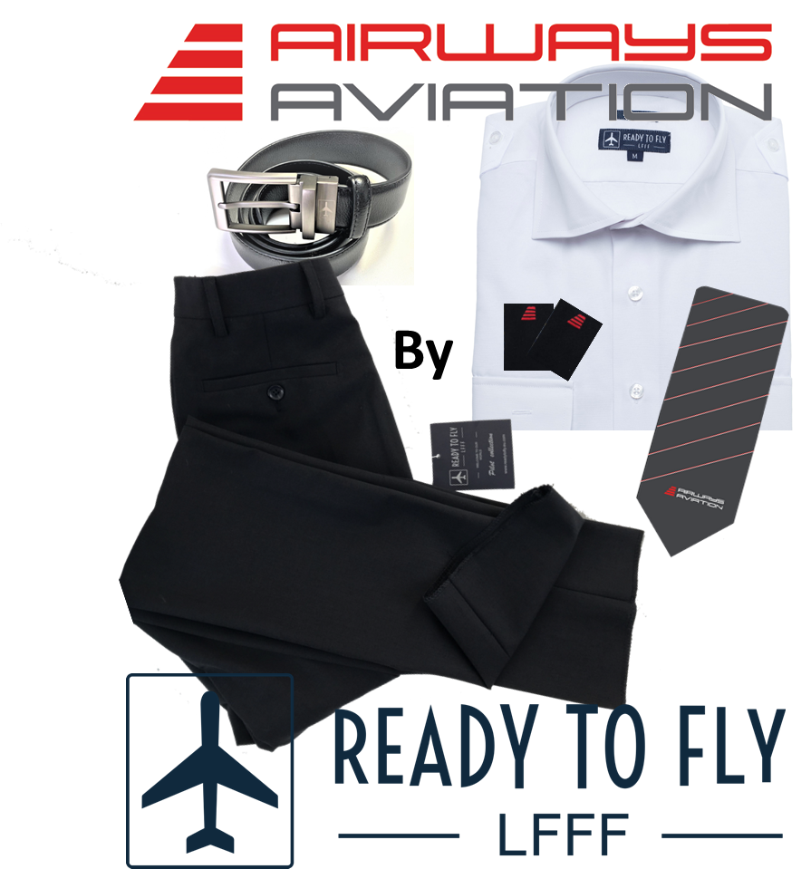 Man Student Pilot Basic Set Airways Aviation by readytofly