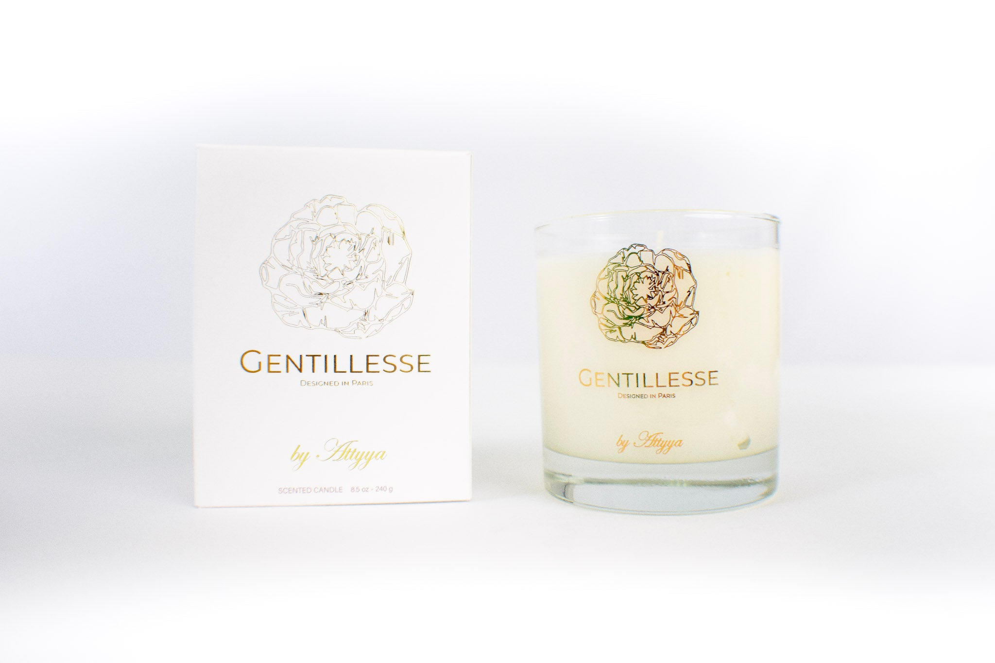 The Gentillesse Signature Candle by ATTYYA-AVAILABLE NOW
