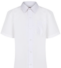 Load image into Gallery viewer, Boys Short Sleeve Shirt - 2 in a PACK (NON-IRON)