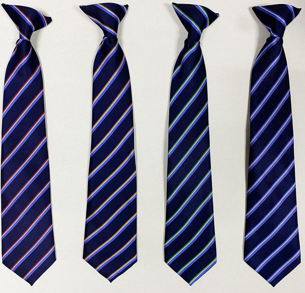 Sale High School  Clip-On Tie (4 Houses)