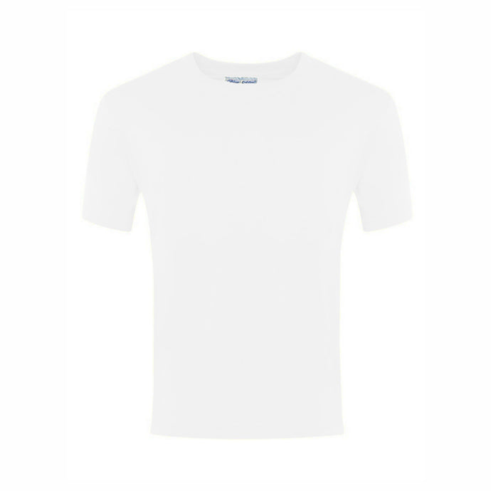 Plain White Kids Crew Neck T-Shirt