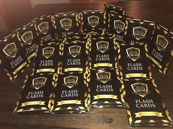 Raising Black Millionaires Flashcards, Vol. 1 [BUY 3 GET 1 FREE]