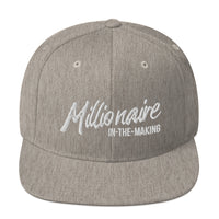 Millionaire-in-the-Making Snapback Hat