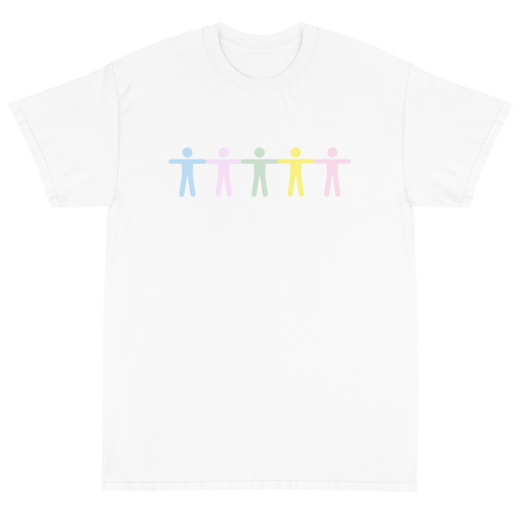 GRADIENT BODY WHITE T-SHIRT