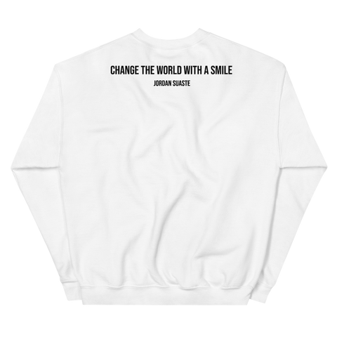 YELLOW BODY WHITE CREWNECK