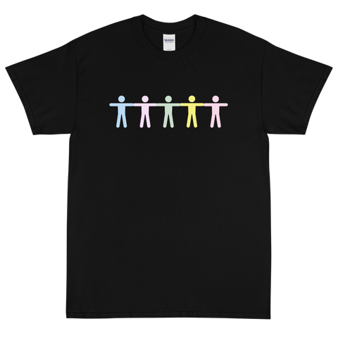 GRADIENT BODY BLACK T-SHIRT