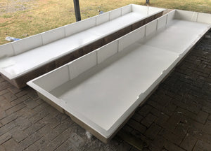 5000x1200x250mm Mega Grow Bed
