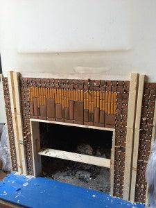 FIREPLACE DURING C