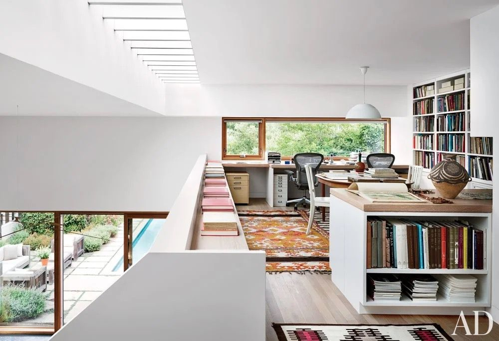This image has an empty alt attribute; its file name is top-5_wfh-mid-century-loft.jpg