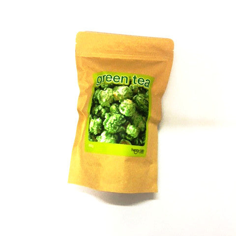 gourmet popcorn to go - green tea