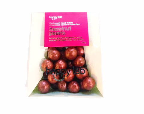 hazelnut pearls (rouge) bag