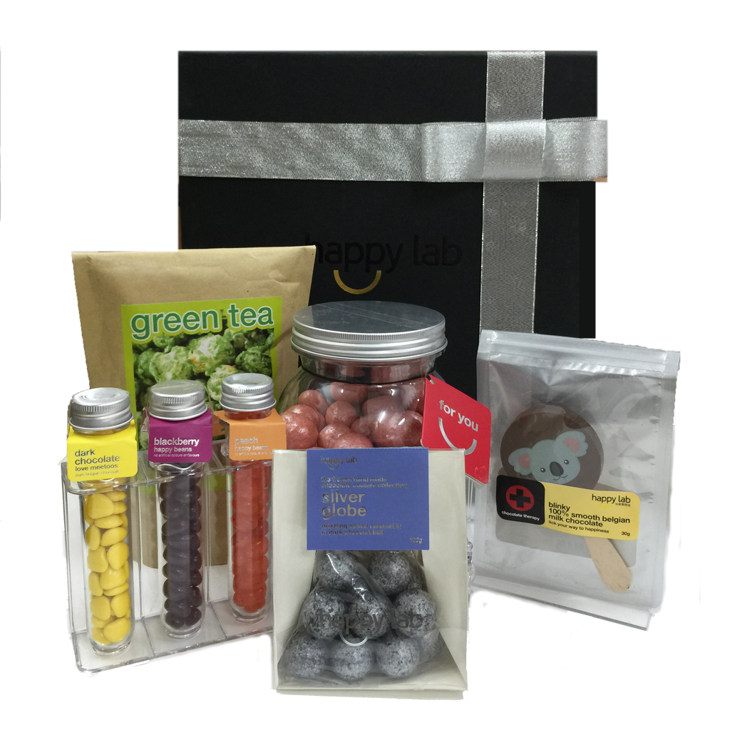 happy lab gift box - delux