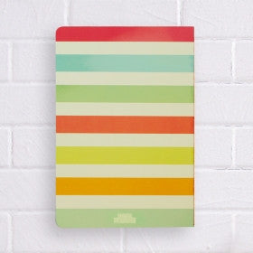 A5 Stripes Notebook