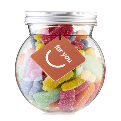 sour hawaiian mix gourmet gummy bulb