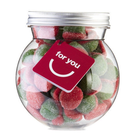 sour watermelon slices gourmet gummy bulb