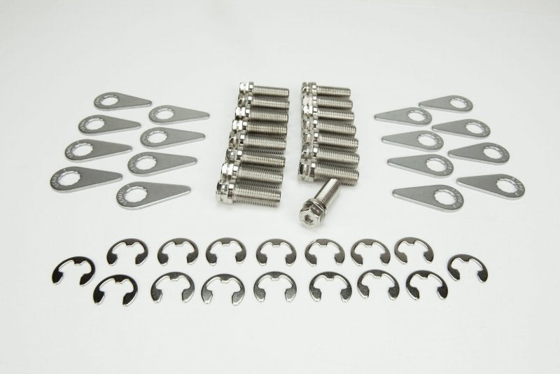 STAGE 8 HEADER BOLT KIT - 16) M10 - 1.25 X 25MM BOLTS AND LOCKING HARDWARE