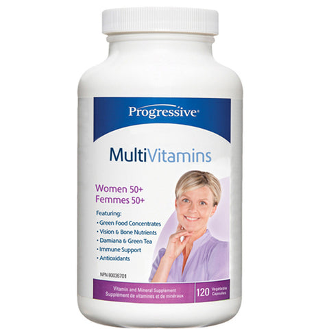 Progressive MultiVitamins for Women 50 +