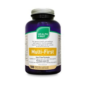 Multi-First Multi-Vitamin & Mineral Iron-Free (2 Sizes Available)