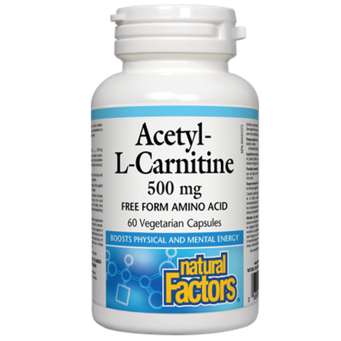 Natural Factors Acetyl-L-Carnitine