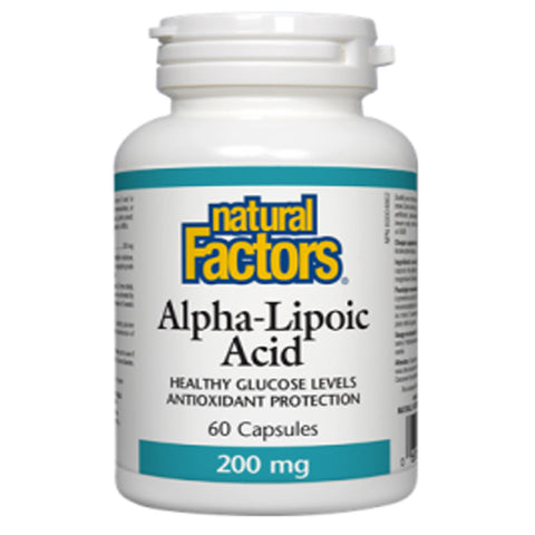 Natural Factors Alpha-Lipoic Acid