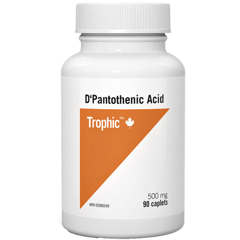 Trophic Pantothenic Acid 500mg