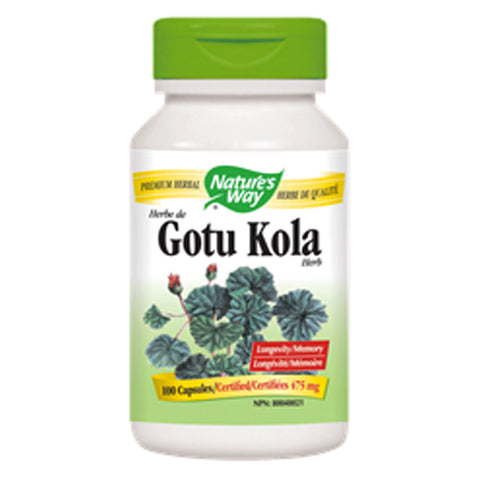 Natures Way Gotu Kola 475mg