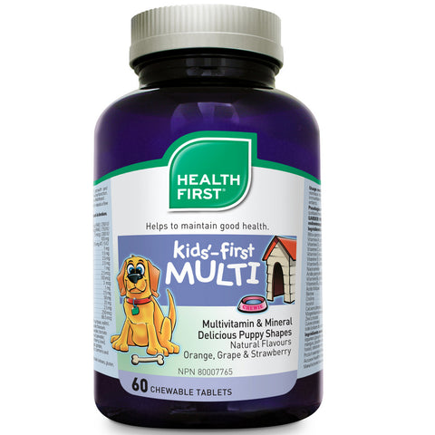 Kids-First Multivitamin & Mineral (2 Sizes Available)