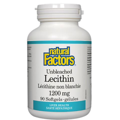 Natural Factors Unbleached Lecithin 1200mg