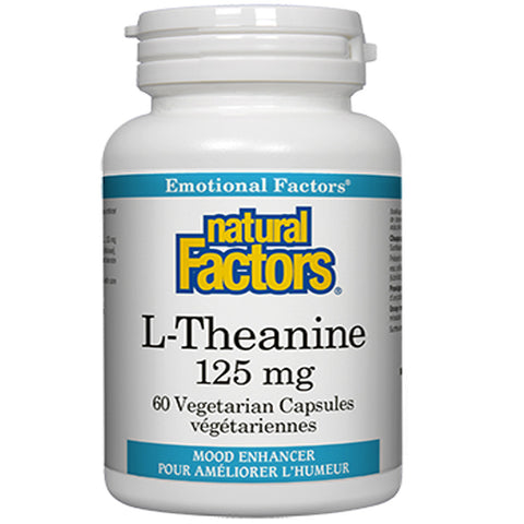 Natural Factors L-Theanine 125mg