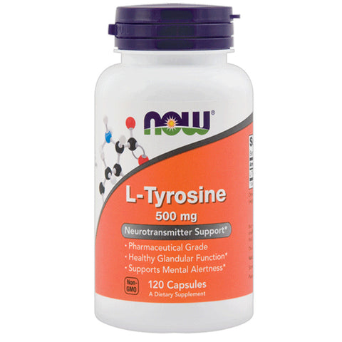 NOW L-Tyrosine 500mg