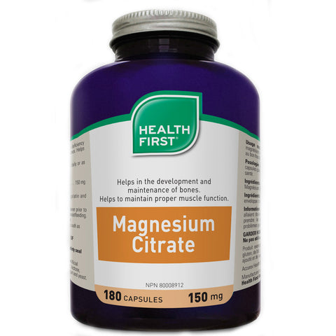 Health First Magnesium Citrate 150 mg