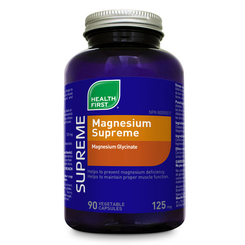 Health First Magnesium Supreme 125mg