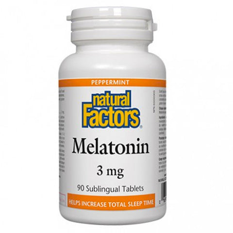 Natural Factors Melatonin 3 mg