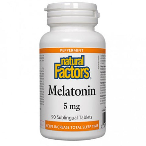 Natural Factors Melatonin 5 mg Sublingual