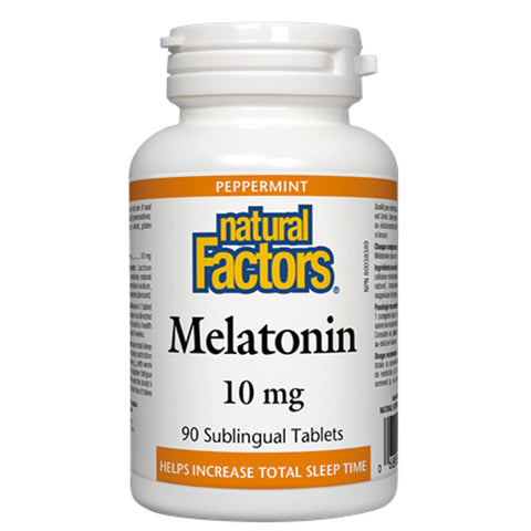 Natural Factors Melatonin 10 mg