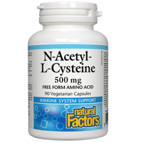 Natural Factors N'Acetyl L-Cysteine
