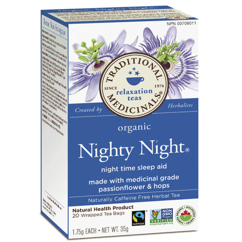 Traditional Medicinals Organic Nighty Night Tea 20TB