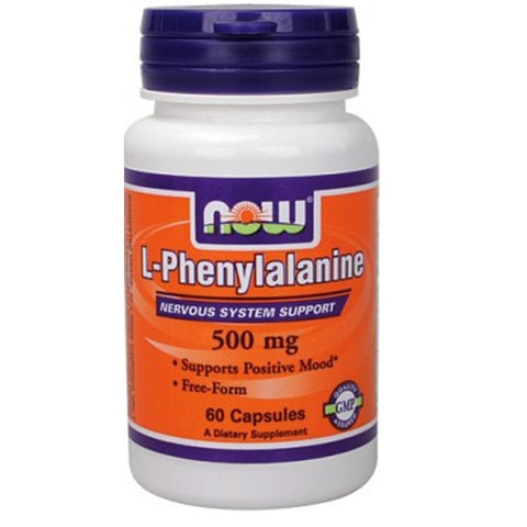 Phenylalanine 500mg by Now Foods